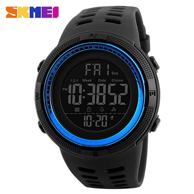 SKMEI Digital 50m Depth Waterproof Men's Sport Watch (Model: 1251)