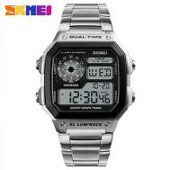 SKMEI Luminous Dual Time 50m Depth Waterproof Electronic Digital Sport Men's Watch (Model: 1335)