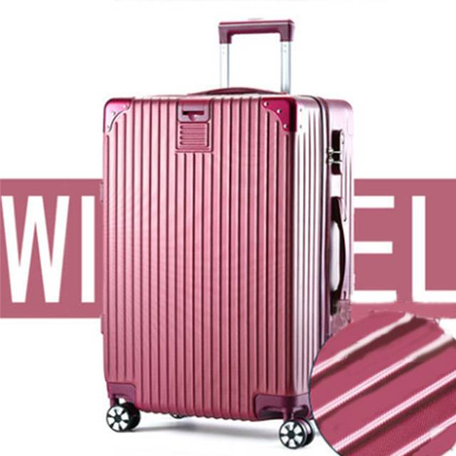 "20"" Inch Scratch-resistant ABS Aluminum Frame 360 Silent Universal wheel Travel Luggage (Model :Y-68)"