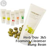 The Face Shop Herb Day 365 Cleansing Foaming Cleanser-Mung Bean (170ml) (FSS-17MB)
