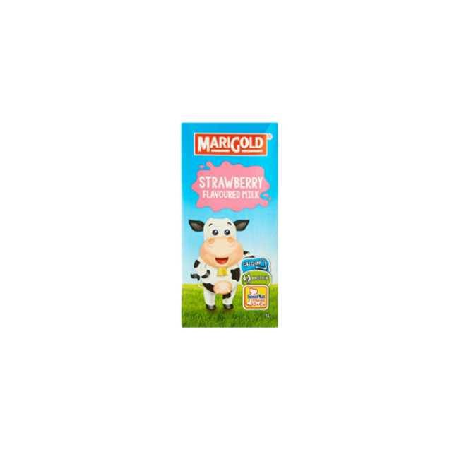 Marigold UHT Strawberry Milk (1L)
