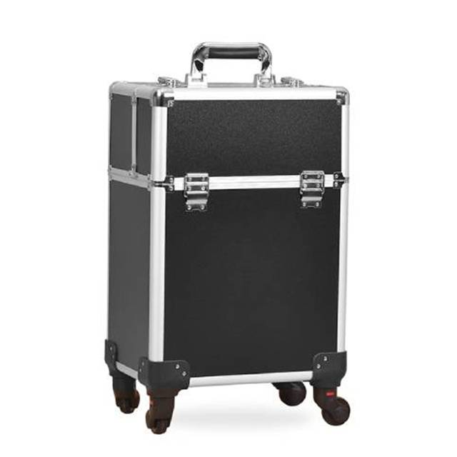Professional Make-up Artist Cosmetic Storage Portable Trolley Luggage (Model: 340CL)
