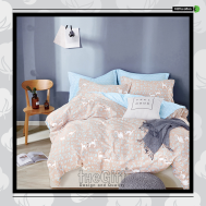 The Gift 100% Cotton Double Fitted Bed Sheets (MS 40400)