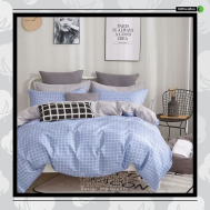 The Gift 100% Cotton Double Fitted Bed Sheets (MS 40411)