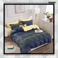The Gift 100% Cotton Double Fitted Bed Sheets (MS 40417)