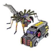 Monument Turning Mecard Mecanimals Mega Spider Vehicle(0887961594508)
