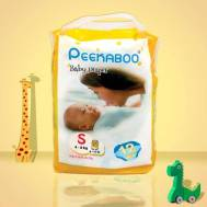 Peekaboo Baby Diaper (S) 12Pcs