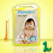 Peekaboo Baby Diaper (L) 10Pcs