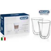 DeLonghi Double Wall Glasses Latte Macchiato 220ML