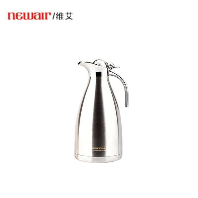 NEWAIR European 304 Stainless Steel 24 Hours Thermo Thermal Insulation Kettle 2Liters (Model: WA-B20XYB)
