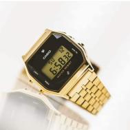 Casio Diamond Watch (A159) Diamonds Gold ( First Copy )