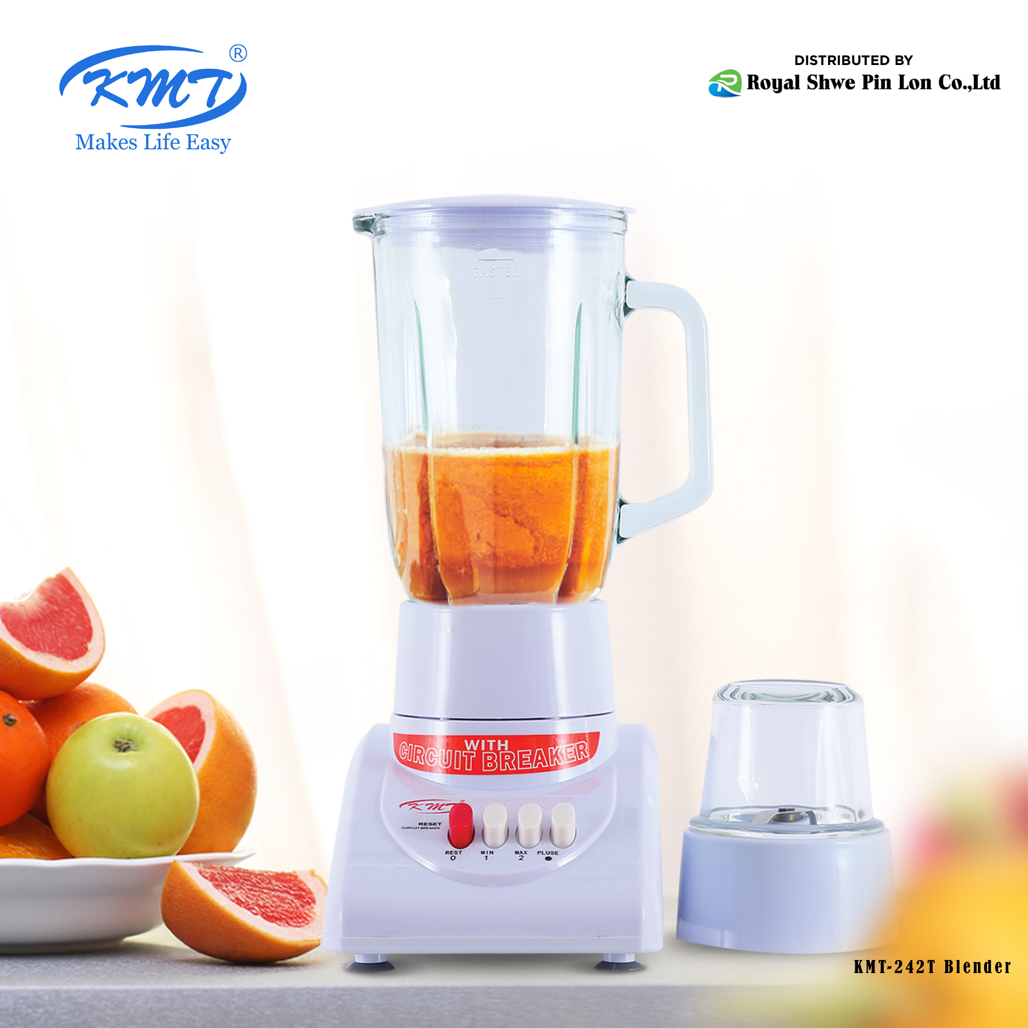 KMT Blender 1200ML 300W (KMT-242T)