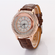 GOGOEY Pave Rhinestones Floating Beads Quartz Movement Women's Watch (Model: XR371)