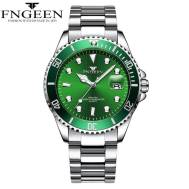 FNGEEN Waterproof Luminous Date Just Quartz Movement Men's Watch (Model: S925 )