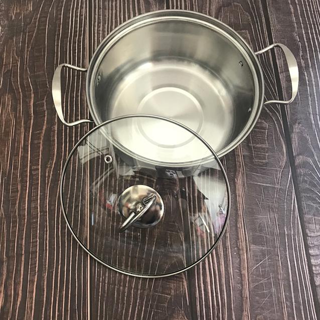 PANDA Stainless Steel Milk Pot & Soup Pot 2 Piece Set (Model: DTM1256)