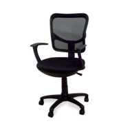 TRENDY N COMFORT Office Chair (C058-1(Black))
