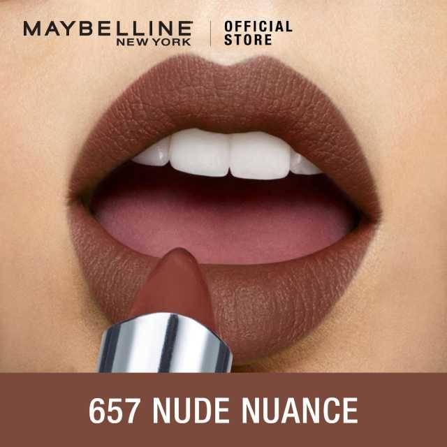 Maybelline Color Sensational Creamy Matte Mini Lipstick 657 Nude Nuanc (G3746400)