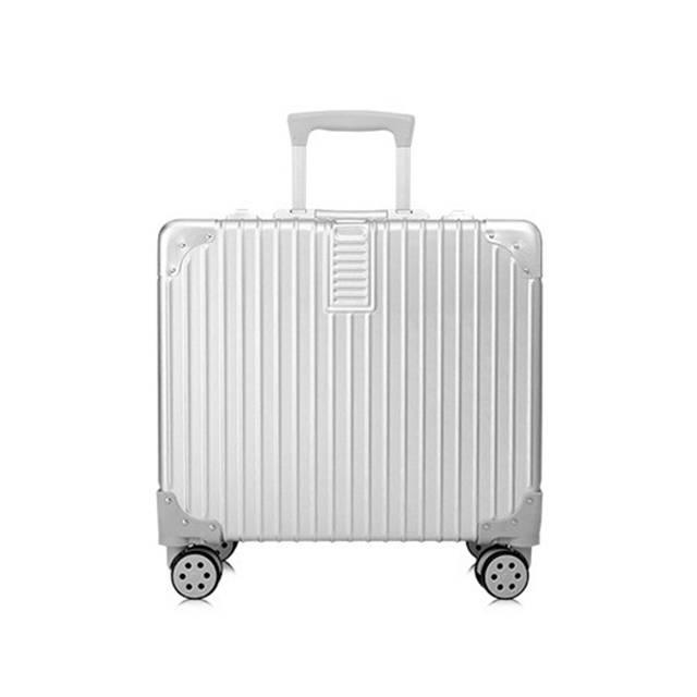 "18""Inch Business Style Aluminum Frame  with TSA Custom Lock Travel Luggage (Model: L1610-2)"