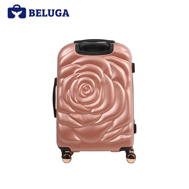 BELUGA Rose Lady Collection 20 Inches Luggage Rose Gold (Model:BE-ROSE-20RG)
