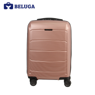 BELUGA Savvy Collection 24 Inches Travel Luggage Suitcase Rose Gold (Model:BE-SAVY-24RG)