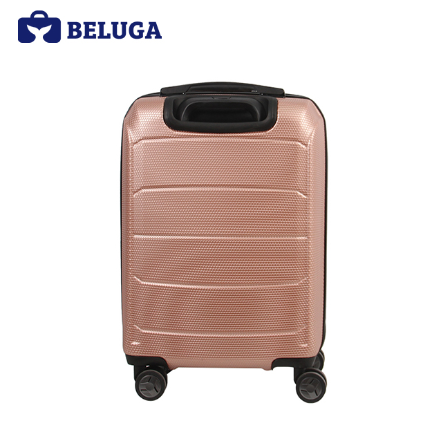 BELUGA Savvy Collection 20 Inches Travel Luggage Suitcase Rose Gold (Model:BE-SAVY-20RG)
