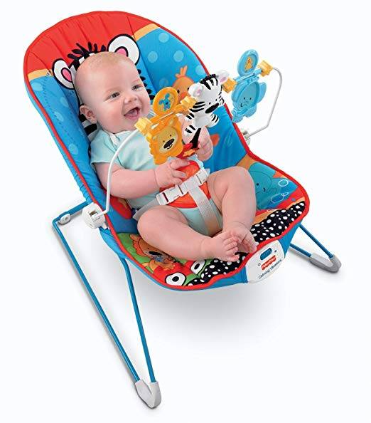 Fisher Price® Adorable Animals™ Baby's Bouncer (Model: V8604)