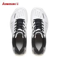 Kawasaki Badminton Shoes K-063 (White/Black & White/Red){Buy one Gift TAAN SPORTS SOCK K-150 1Pcs}
