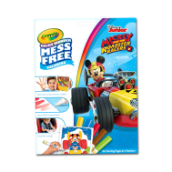 Crayola Color Wonder Coloring Pad & Markers, Mickey Mouse Roadster Racers(757006)(CRA0005)