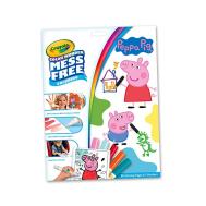 Crayola Color Wonder Coloring Pad & Markers, Peppa Pig (757000) (CRA0002)