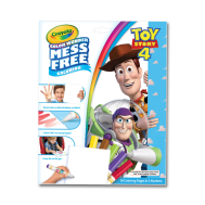 Crayola Color Wonder Coloring Pad & Markers, Toy Story 4(757008)(CRA0007)