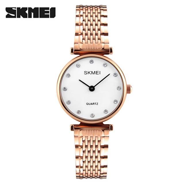 SKMEI Rhinestones Waterproof Dress Quartz Women's Watch (Model: 1223)