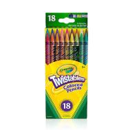 Crayola 18 ct. Twistables Colored Pencils - Vibrant Variety (687418)(CRA0037)