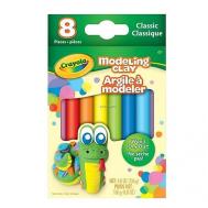 Crayola 8 Classic Color Modelling Clay (570312)(CRA0066)