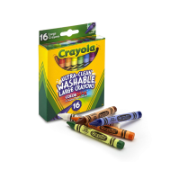 Crayola 16 ct. Large Ultra-Clean Washable Crayons (523281) (CRA0013)