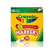 Crayola 10 ct. Broad Line Markers - Classic (587722) (CRA0019)