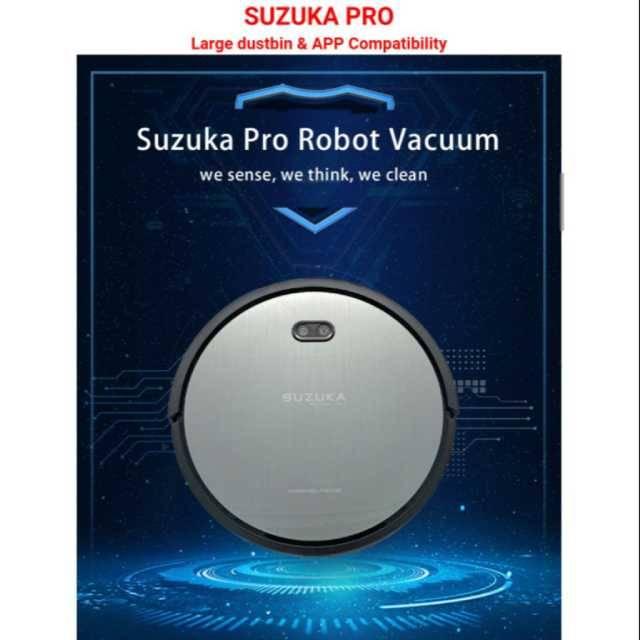 Mini Helper Suzuka Professional Robot Vacuum with APP/MOP/MAP