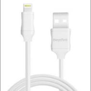 Hanye iOS lightining iphone cable 2M (Li504-2M) - (Free gift: Phone U stand)
