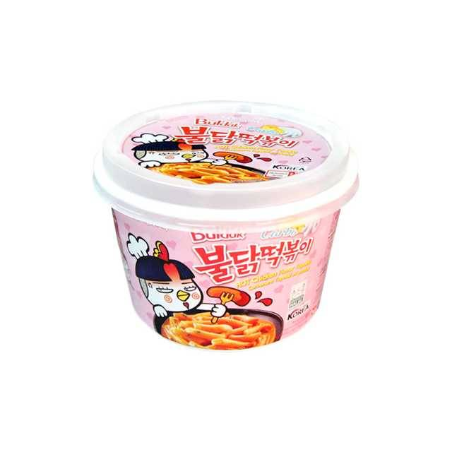 Samyang Foods Buldak Carbo HOT Chicken Flavor Topokki (179g)
