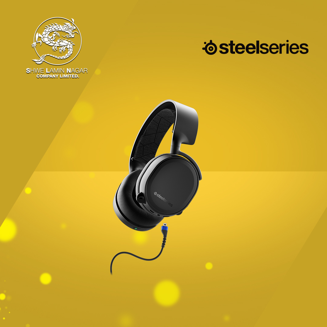 SteelSeries Headphone Arctis 3 Bluetooth ( 2019 Edition )