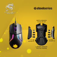 SteelSeries Gaming Mouse (Rival 600) - (Black)