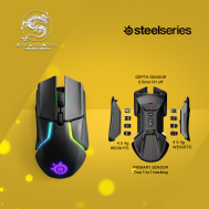 SteelSeries Wireless Gaming Mouse (Rival 650) - (Black)