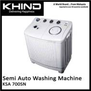 KHIND 7 Kg Semi Auto Washing Machine (KSA-700SN)