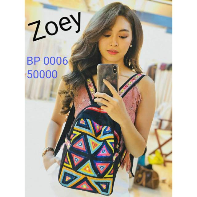 Zoey small backpack (BP 0006)