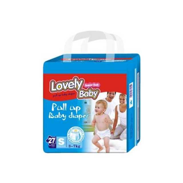 Lovely Baby Pull Up Baby Diaper (S-27pcs) (3-7kg)