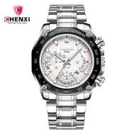 CHENXI 029A Stainless Steel Band Men Quartz Watch (Model:CX-029AW)