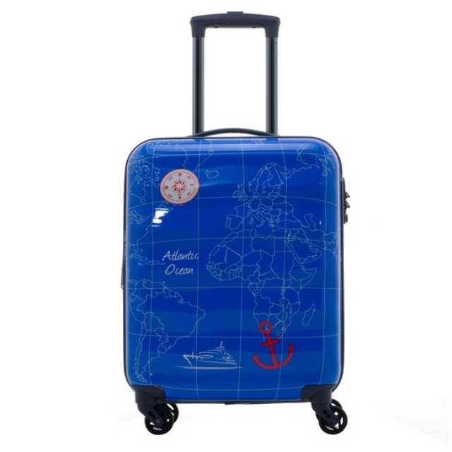 Caggioni Geographic Collection Travel Luggage (16-13-C18121) Size 28""
