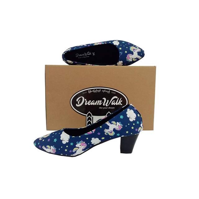 Dream Walk Block Heel Pump(2 inches) (DW31)