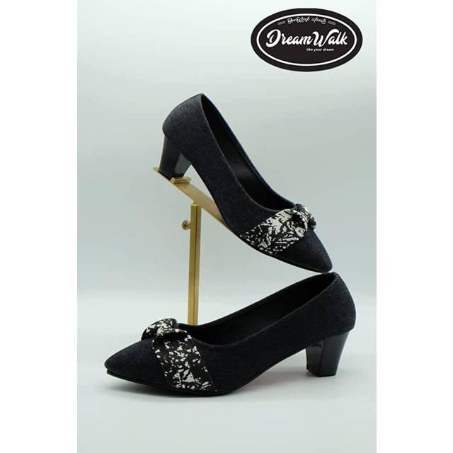 Dream Walk BSR-Block Heel Pump(2 inches) (DW39)