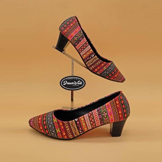 Dream Walk Block Heel Pump(2 inches) (DW42)