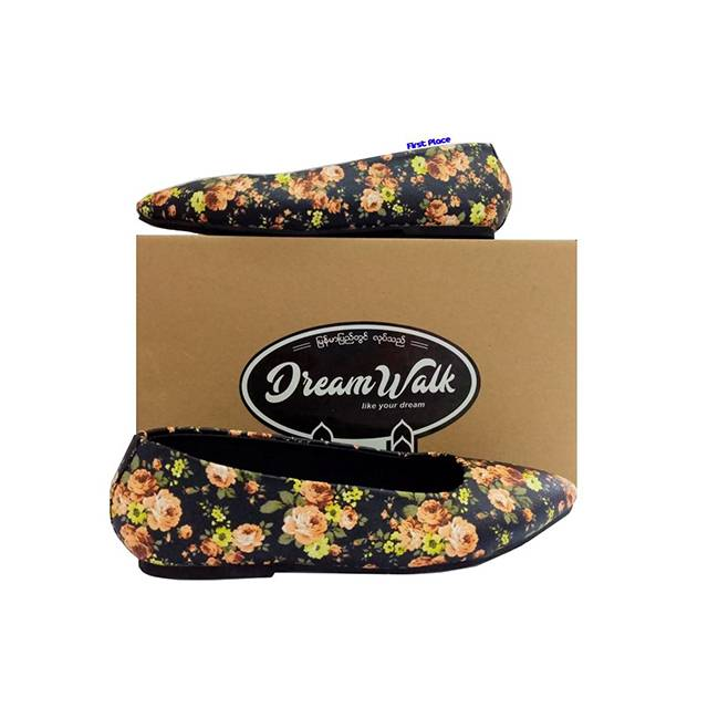 Dream Walk Ballerina Flats (DW147)